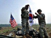 US Soldiers in S. Korea