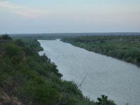 Wide Open Mexican Border South of Laredo Texas