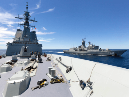 Australia Joins Unprecedented Military Exercises with U.S., Japan, and India