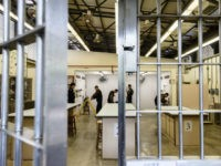 In this picture taken on March 2, 2017, young offenders take part in training programs at Cape Collinson Correctional Institution in Hong Kong. Established in 1958, Cape Collinson Correctional Institution is a minimum security institution and training centre that houses a capcity of 192 male young offenders undergoing training under …