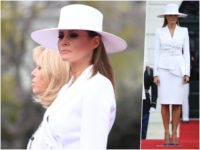 Fashion Notes: Melania Trump Steals the Show in Hervé Pierre Hat, Suit