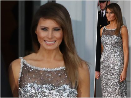 Fashion Notes: Melania Trump is The Belle of The Ball in Chanel Haute Couture at US-France State Dinner