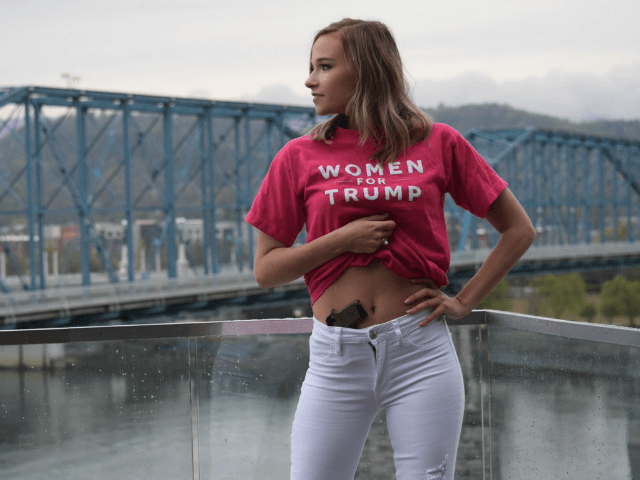 College Senior Stands by Decision to Pose with Gun in Her Waistband