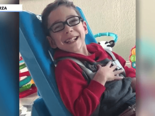 Florida boy, 5, with cerebral palsy brings dad to tears with Pledge of Allegiance: 'It hit me right in the heart'