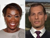 Joy Reid and Media Matters president Angelo Carusone.