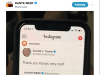 Donald Trump Responds to 'Love' from Kanye West: 'Thank You Kanye, Very Cool!'