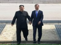 Kim Jong Un Makes History, Crosses Korean Border