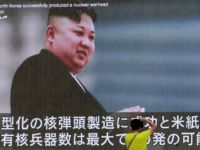 In this Aug. 6, 2017, file photo, a man takes a photo of a TV news program in Tokyo, showing an image of North Korean leader Kim Jong Un. The U.S. intelligence agencies' assessments of the size of North Korea's nuclear arsenal have a wide gap between high and low estimates. Size matters and not knowing makes it harder for the United States to develop a policy for deterrence and defend itself and allies in the region. The secrecy of North Korea's nuclear program, the underground nature of its test explosions and the location of its uranium-enrichment activity has made it historically difficult to assess its capabilities. (AP Photo/Shizuo Kambayashi, File)