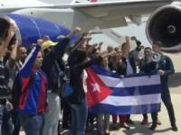 Llegada a Perú de la delegación de la sociedad civil cubana que participará en #CumbreDeLasAméricas