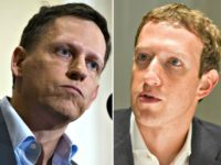 peter thiel mark zuckerberg split