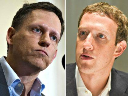 peter thiel mark zuckerberg split