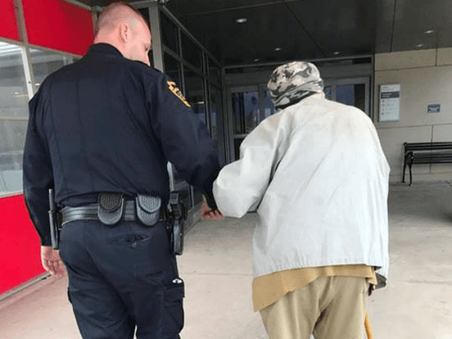Elderly Man Calls Police To Give Him A Ride To Visit Wife