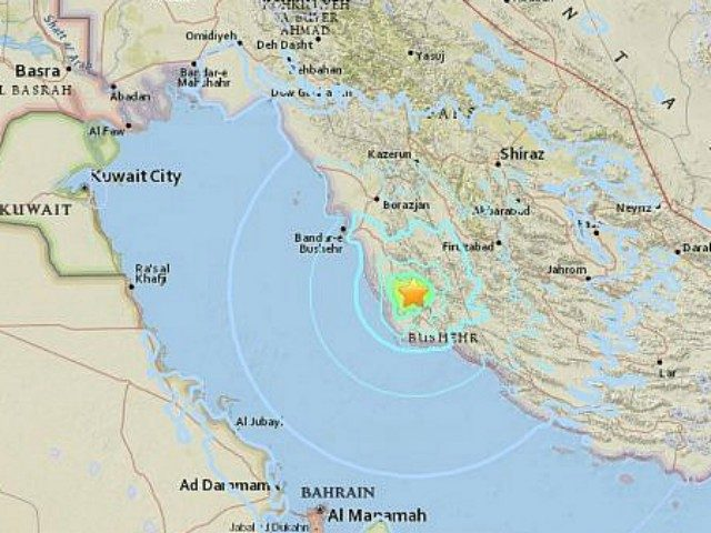 Iran natural disaster : Huge quake  strikes near NUCLEAR POWER PLANT
