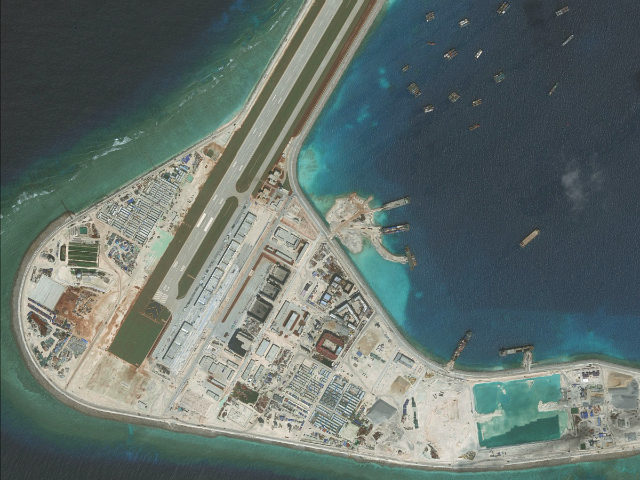China says it has natural right in South China sea militarization