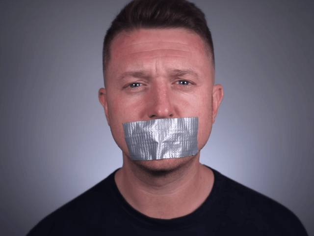 Why was Tommy Robinson arrested?