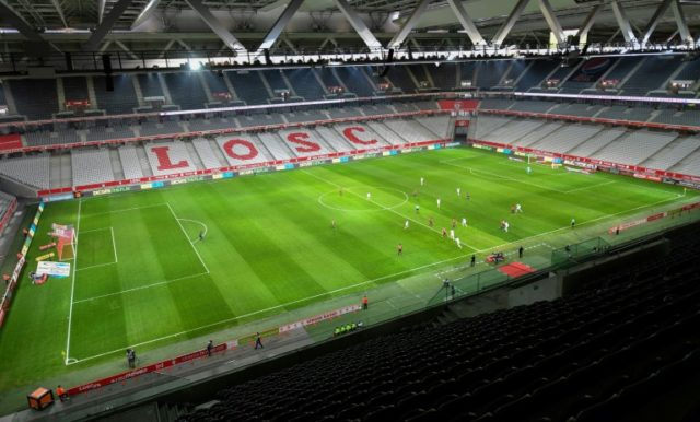 Lille lost 1-0 to Amiens behind closed doors on Sunday