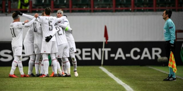 The decision by the league to allow Lokomotiv Moscow, pictured on February 22, to play an extra home match angered other clubs, including closest title rivals Spartak Moscow and CSKA Moscow