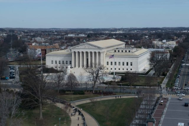 The US Supreme Court: justices signalled support Monday for police officers accused of using excessive force in shooting cases
