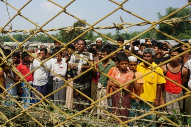 Nearly 700,000 Rohingya have been driven out of Rakhine state and are living in crowded refugee camps in Bangladesh since a Myanmar army operation in August 2017