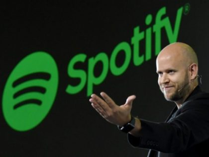 """Daniel Ek, CEO of Swedish music streaming service Spotify, says a stock market listing """"doesn't change who we are"""""""