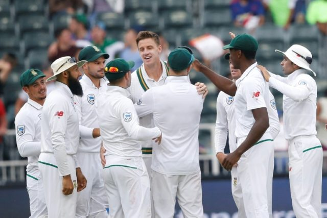 Morne Morkel battled through injury to help South Africa push for victory against Australia in his final Test match