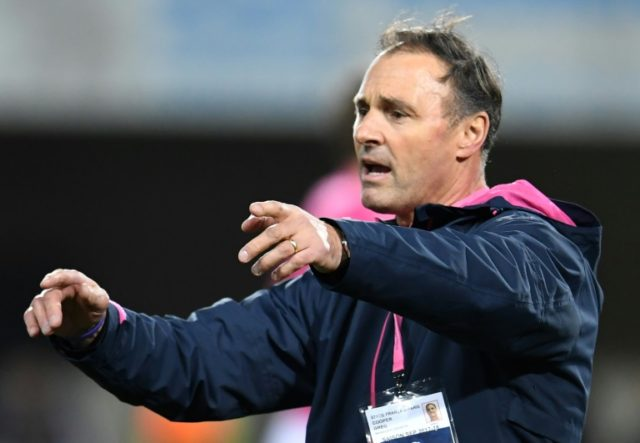 Former Stade Francais head coach Greg Cooper, seen here in January 2018, has been named as the new boss of Japanese side Mitsubishi Sagamihara Dynaboars