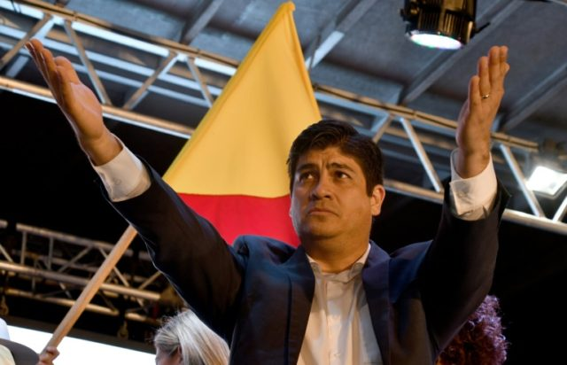 Costa Rica's president-elect Carlos Alvarado vows to boost education and infrastructure spending while bringing down the country's ballooning deficit