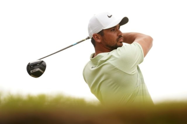 Jason Day of Australia, pictured in March 2018, will have his good friend Rika Batibasaga serving as his caddie at Augusta