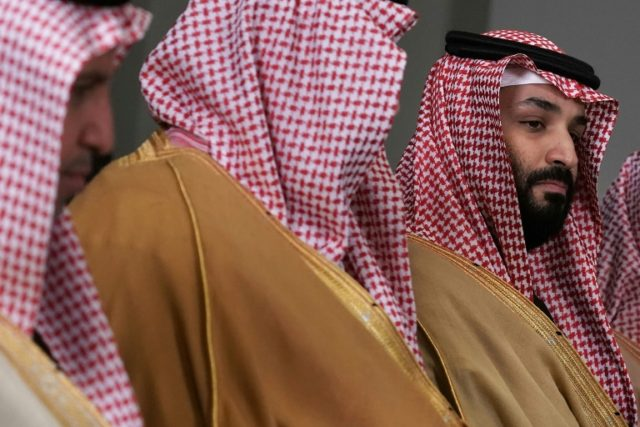 "Saudi Crown Prince Mohammed bin Salman, Saudi Arabia's de facto leader, says Israel has a ""right"" to a homeland, a notable shift in the kingdom's position"