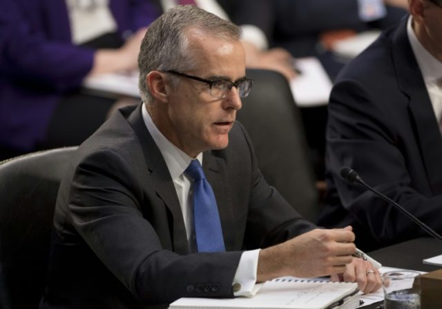 Former FBI deputy director Andrew McCabe raises more than $500,000 for legal costs related to his firing in March