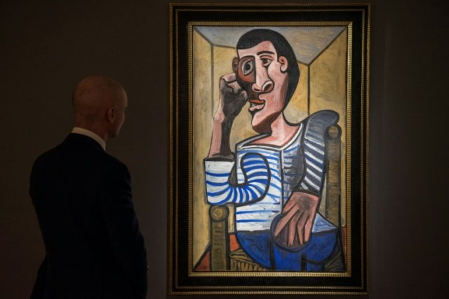 Created in 1943, the painting reflects the distress and anxiety of Picasso who was under threat of being sent to a Nazi concentration camp in Germany