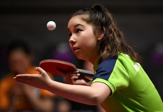 Eleven-year-old table tennis player Anna Hursey of Wales is thought to be the youngest ever athlete at the Commonwealth Games.