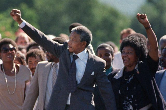 In 1990, Winnie Mandela famously joined hands with her husband Nelson as he walked out of prison. But her key role in sustaining the early anti-apartheid struggle was stained later by a reputation for coercion and violence