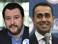 Far right League leader Matteo Salvini and the leader of the anti-establishment Five Star Movement Luigi Di Maio are both eyeing a government role after an inconclusive general election