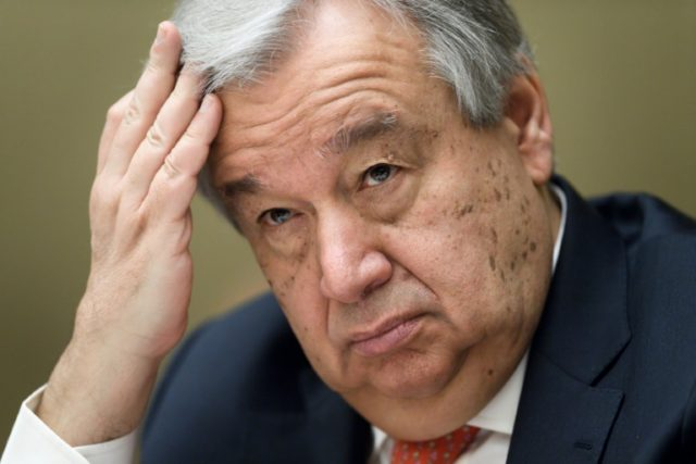 Guterres launched the Yemen funding drive at a conference in Geneva