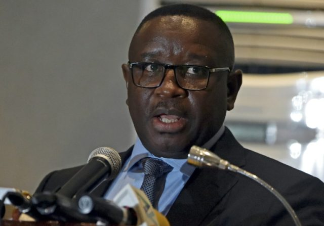 Sierra Leone presidential candidate Julius Mada Mio was one of a group of young soldiers behind a 1992 coup
