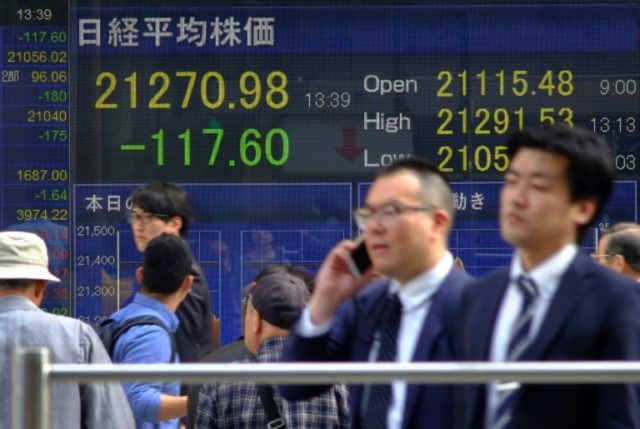 Stocks inch up despite trade war worries