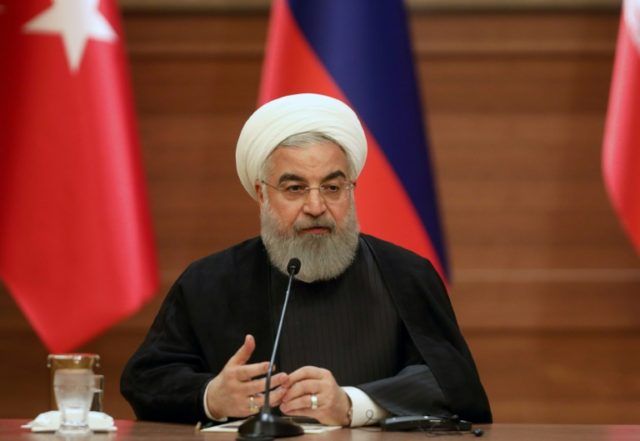 Rouhani angers Israel with 'support for terrorists' jibe
