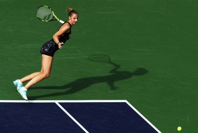 Kristyna Pliskova blasted six aces and broke world number 10 Petra Kvitova's serve six times in the two-hour match