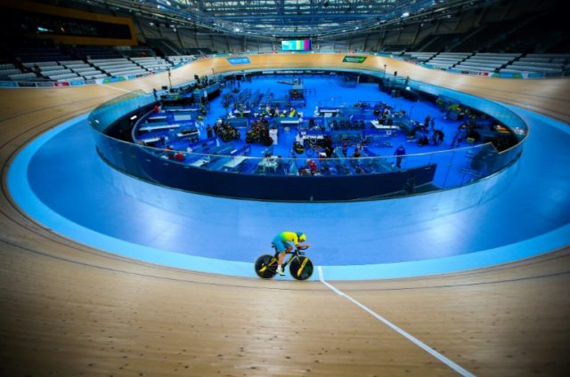 Australia's cycling team are expected to star in the track events.
