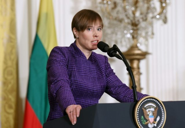 "Estonian President Kersti Kaljulaid said the deployment of US forces and missiles to her country would help make deterrence ""believable"" for Russia"