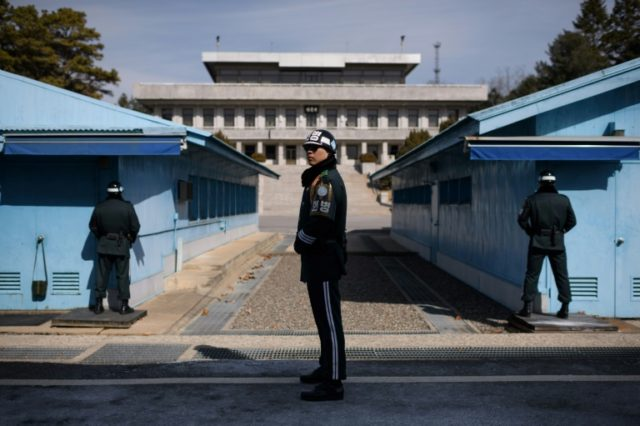 Kim Jong Un and the South's president Moon Jae-in are due to meet on April 27 at the South's side of the demilitarised zone for the landmark inter-Korean summit