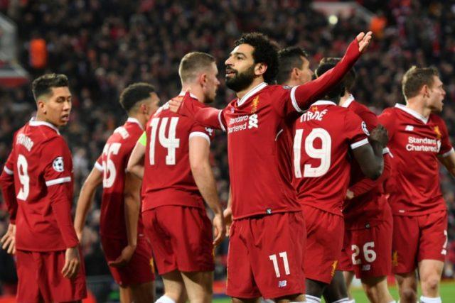 Salah scored his 38th goal of the season before hobbling off injured.