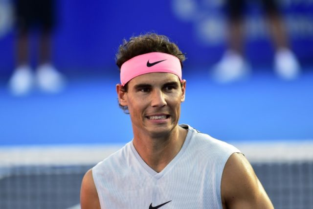 Rafael Nadal is set to return to the court for this weekend's Davis Cup tie for the first time since January