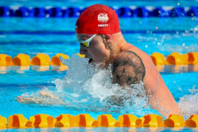 England's Adam Peaty is unbeaten in the 100m breaststroke since his Commonwealth Games gold in 2014.