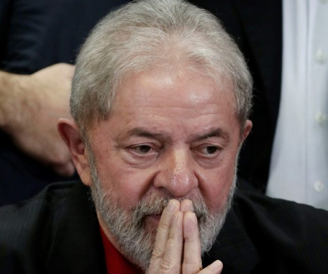 Luiz Inacio Lula da Silva, who is ahead in the polls as he seeks a third term as Brazil's president, suffered a blow as the Supreme Court refused to delay a prison sentence for corruption