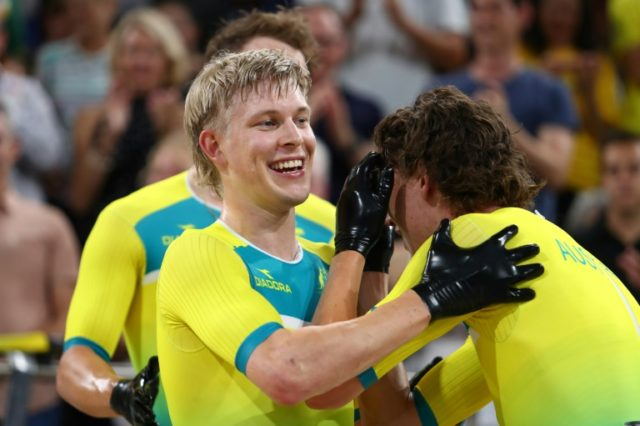 Australia's Alex Porter has grown a 1980s-style mullet haircut.