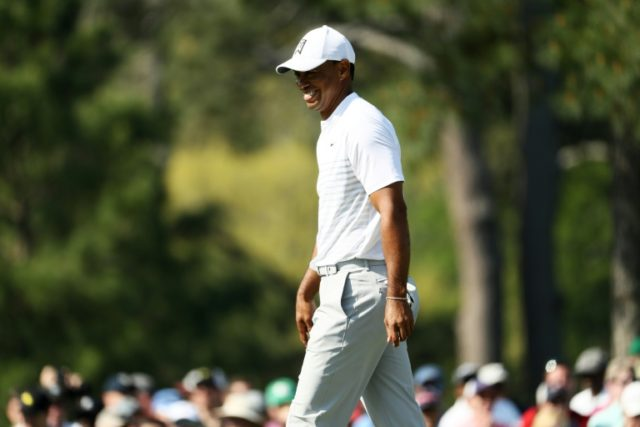 Woods one-over in 'awesome' return to Augusta National