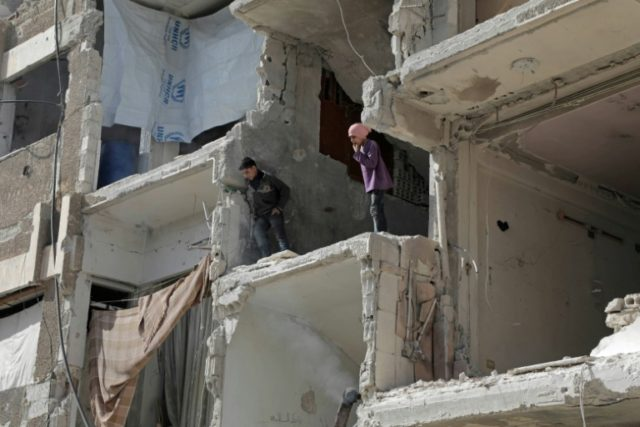 Douma is the last rebel-controlled town in Syria's Eastern Ghouta, a sprawling suburb of Damascus that was once the opposition's bastion on the edge of the capital