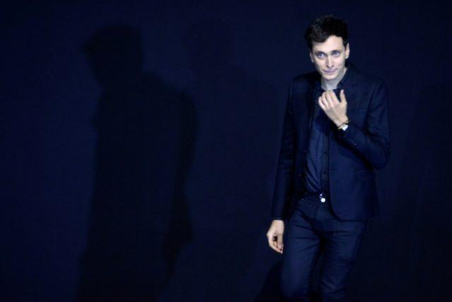 French-born designer Hedi Slimane, famed for his skinny jeans look, has taken the reins at Celine